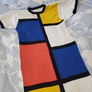 ⚡⏬Vintage Colourblock Dress